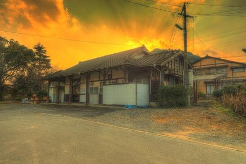 蔵宿駅HDR