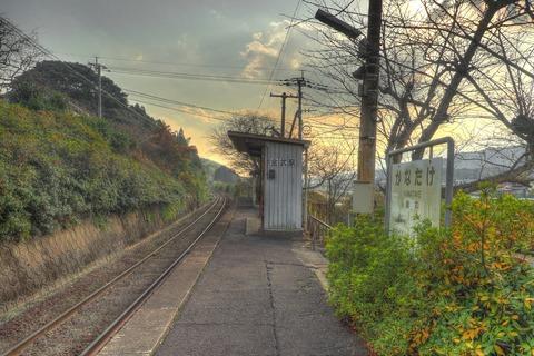 金武駅HDR