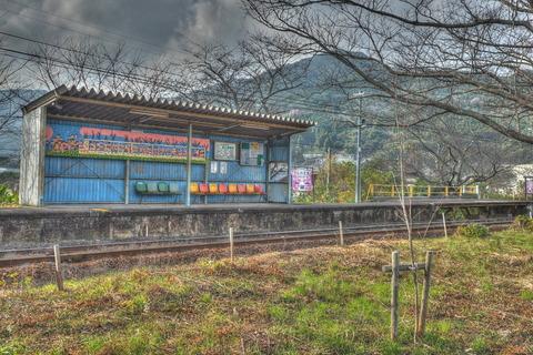浦ノ崎駅HDR