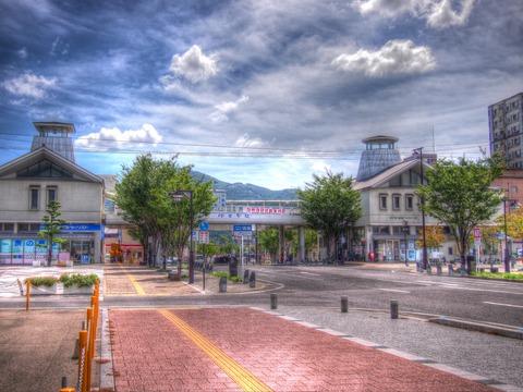 伊万里駅北側HDR