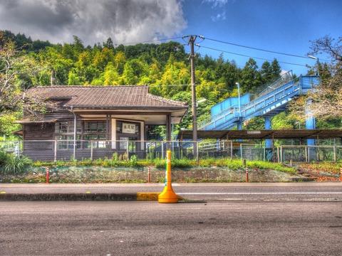 永尾駅HDR