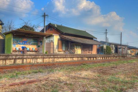 東山代駅HDR