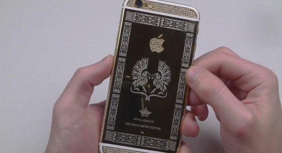 The Satisfaction of Scratching a 24K Gold iPhone 6   YouTube