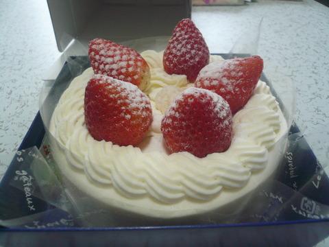 13早期でクリスマスケーキ