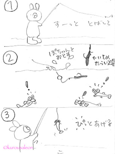 ハゼの釣り方