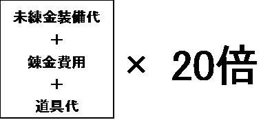 錬金費用2