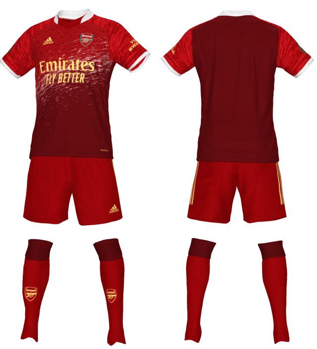 ◆悲報◆アーセナルの来季新ユニフォーム、かっこいいけどリバプールにしか見えない