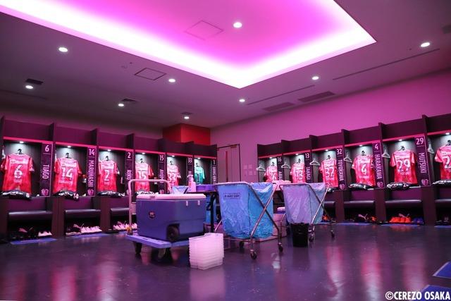 ◆悲報◆C大阪初使用の桜スタジアムのドレッシングルームの雰囲気が怪しすぎると話題に!