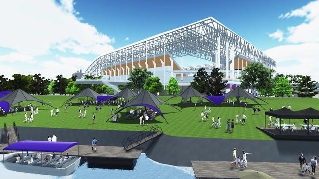 ◆朗報◆広島の新スタジアム、いい塩梅にコストダウンできそう