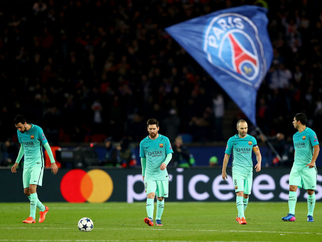 """◆UEFA-CL◆大敗バルサに希望あり?UEFAが過去の""""奇跡の生還たち""""を紹介"""