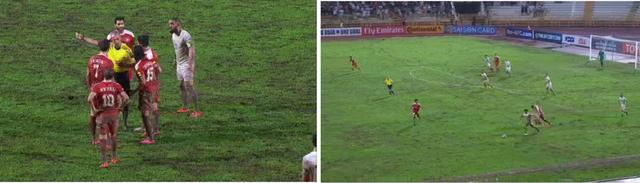 ◆W杯予選◆A組 シリア×イラン戦のピッチがほぼ田んぼだと話題に!