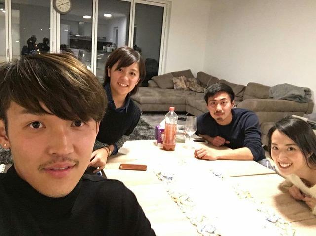 ◆画像◆宇佐美貴史選手がピアスして岩渕真奈選手を自宅に連れ込んでると話題に!(嫁の手料理食べたみたいだが・・・)