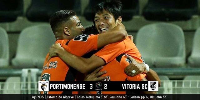 ◆ポルトガル◆5節 ポルティモネンセ×ギマラエス 中島翔哉2G1A全ゴールに絡み今季初勝利!