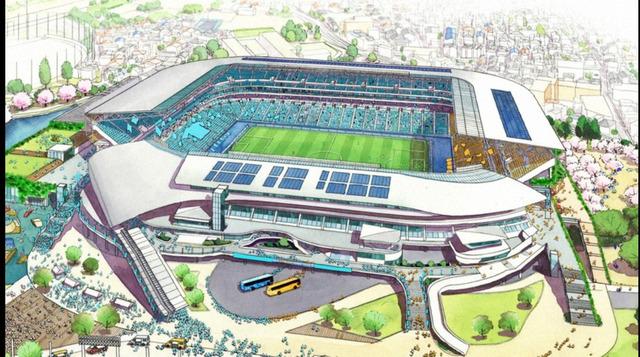 ◆画像◆等々力スタジアム球技専用化でほんとに和製カンプ・ノウ化