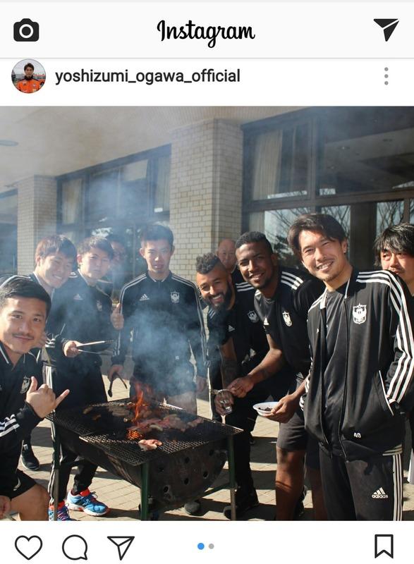 ◆J小ネタ◆アルビレックス新潟の面々、シーズン入る前からBBQ(´・ω・`)