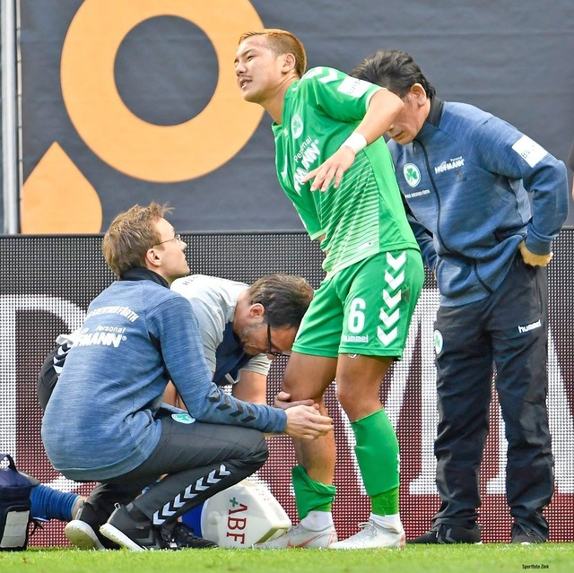 ◆海外組◆グロイター・フュルトの元日本代表MF井手口陽介、後十字靭帯断裂で長期離脱か?
