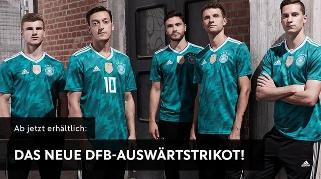 ◆ドイツ代表◆ロシアW杯用セカンドユニフォームを発表!