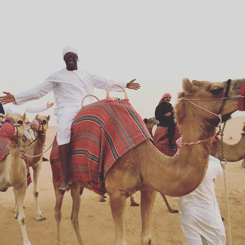 ◆画像◆砂漠を満喫するマリオ・バロテッリwwwwww