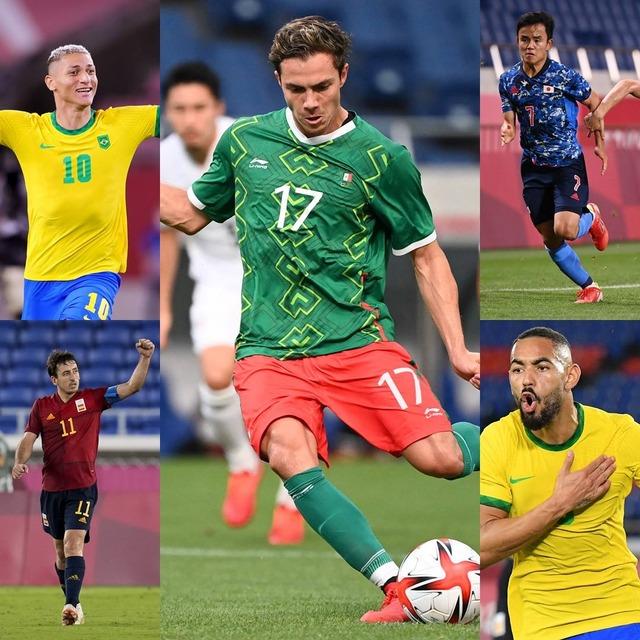 ◆朗報◆久保建英くんさん、FIFA選出東京五輪の優秀選手5名に入る…リチャルリソン、クーニャ、コルドバ、オヤルサバルとともに