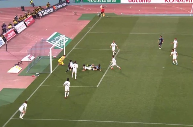 ◆J小ネタ◆川崎F×広島で川崎の同点ゴールがオフサイド判定になったホントの理由(´・ω・`)