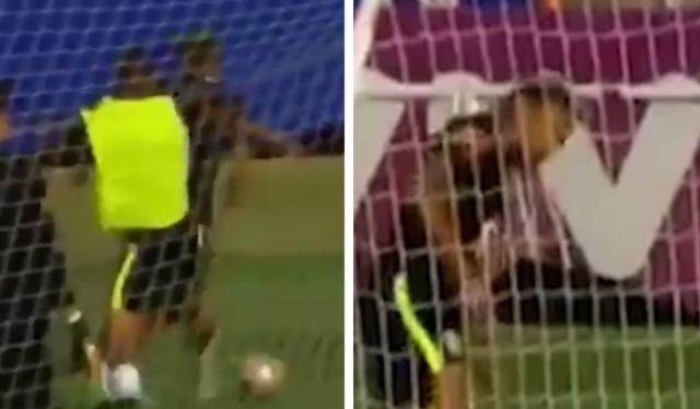 ◆悲報◆パウリーニョはバルサの刺客か?ブラジル代表練習でネイマールを強烈なタックルで負傷させる(´・ω・`)