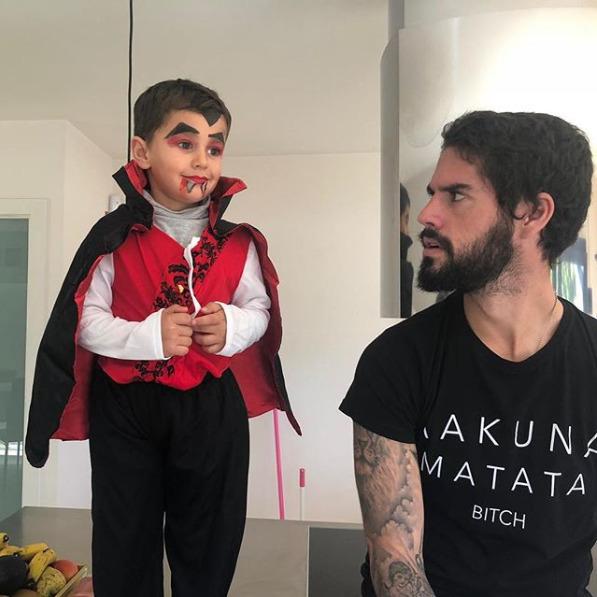 ◆悲報◆レアル・マドリーのイスコさん、息子のハロウィン仮装に驚愕