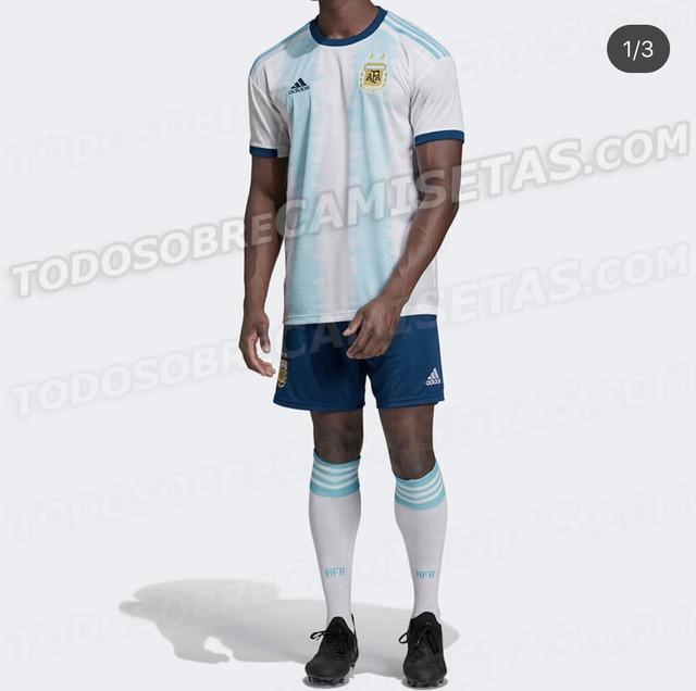 ◆悲報◆アルゼンチン代表新ユニフォームから全くやる気が感じられないと話題に!