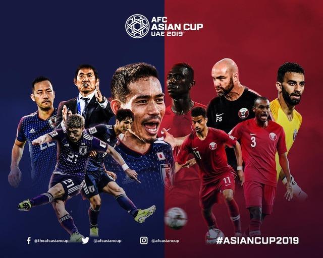◆アジア杯◆決勝 日本×カタール 日本後半修正し攻勢も前半2失点が響き5回目の優勝逃す