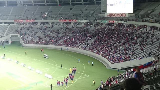 ◆悲報◆ルヴァン杯大敗のFC東京サポ、選手が挨拶来る前に撤収