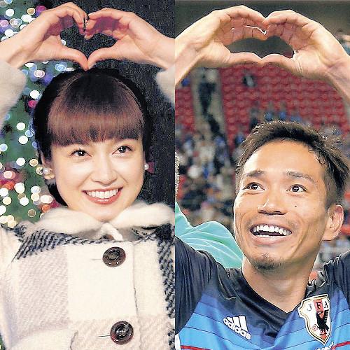 ◆おめでと◆長友&平愛梨、1月に結婚!すでに結納を済ませ関係者に報告-長友よとりあえずお疲れちゃん