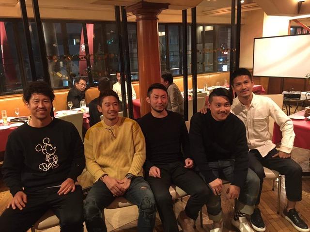◆画像◆冬休み中に香川・梶山・豊田・安田ら北京五輪代表が集まった結果