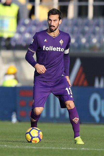 ◆訃報◆セリエAフィオレンティーナ主将でイタリア代表のダヴィデ・アストーリが急死、セリエA全試合中止へ