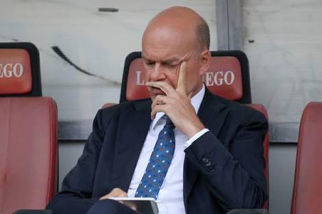 ◆セリエA◆ACミランCEOファッソーネ、巨額260億円補強を失敗と認める...「多くの選手を獲得しすぎた」