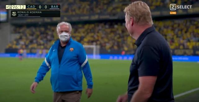 ◆悲報◆バルサMFブスケツさん、2つ目のボールを敵に蹴り当ててイエロー…それに抗議したクーマン退席(´・ω・`)