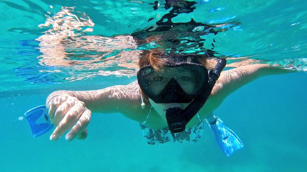 ◆画像◆宮古島でダイビング中のなでしこ岩渕真奈、こんな角度から撮っても大丈夫なんだな!と話題に!