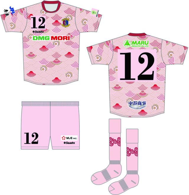 ◆J小ネタ◆奈良クラブのユニフォームのデザインがある意味すごいと話題に!