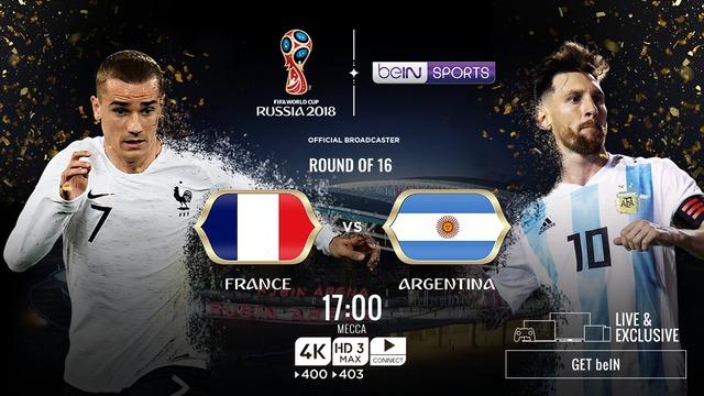 ◆ロシアW杯◆R16 フランス×アルヘン 前半終了 フランスPKで先制もディ・マリアのゴラッソでアルヘン追いつき後半へ