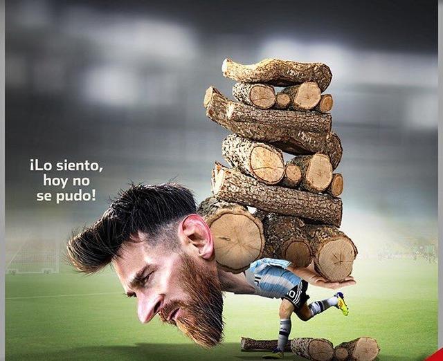 ◆画像◆アルゼンチン代表のメッシはこんな感じ