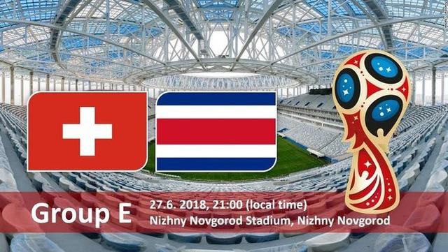 ◆ロシアW杯◆E組3節 スイス×コスタリカ スイス2度リードもコスタリカに追いつかれドロー、スイスE組2位突破