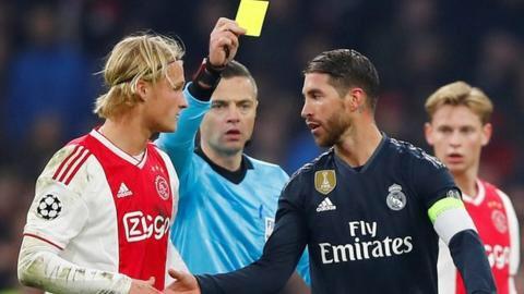 ◆悲報◆セルヒオ・ラモス「わざとイエローもらいました」で2試合出場停止の危機