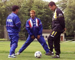 ◆レジェンド◆元日本代表MF山口素弘、「中田英のむっちゃ強いパスをトラップミスしたら半笑いされた」