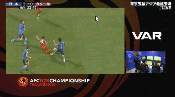 ◆悲報◆カタール×日本、カタール同点ゴールのPK判定がものすごく臭いと話題に!