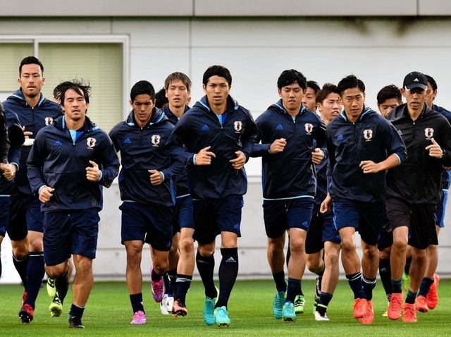 ◆画像◆走る日本代表FW武藤嘉紀がやっぱりケンブリッジだと話題に!