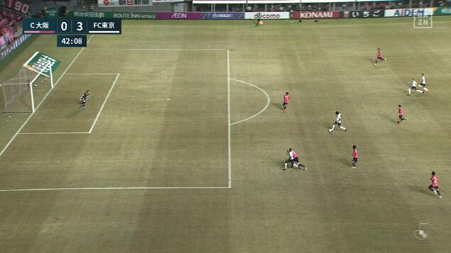 ◆悲報◆C大坂本拠地ヨドコウ桜スタジアムの芝、新装オープン直後なのに既にボロボロ