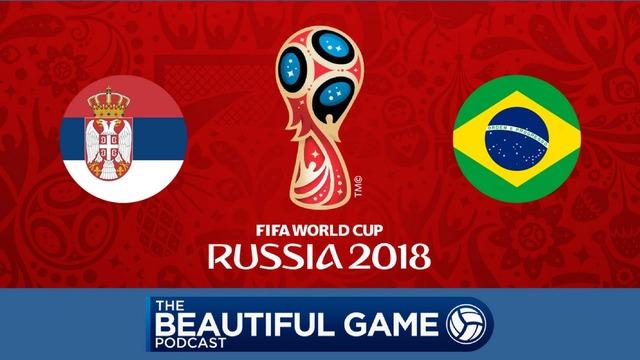 ◆ロシアW杯◆E組3節 セルビア×ブラジル ブラジル2発快勝でGL首位突破!セルビアは敗退