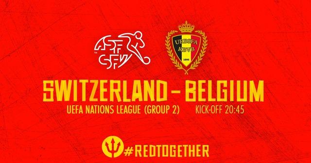 ◆UEFA-NL◆A-2組 6節 スイス×ベルギー 0-2は危険なスコア発動!スイス大逆転5-2で同組逆転首位!