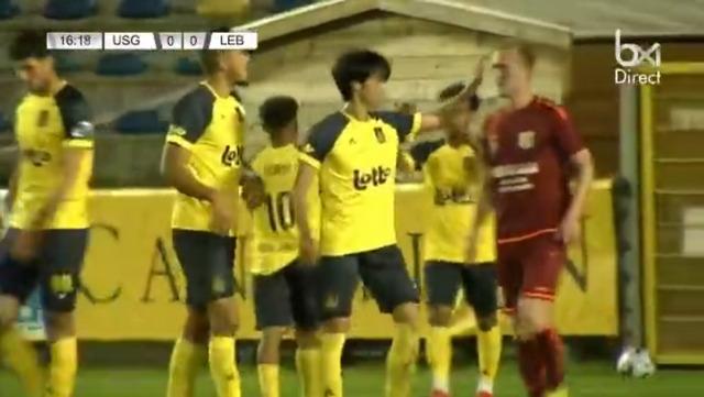 ◆ベルギー杯◆5回戦 FC Lebbeke戦サンジロワーズFW三笘薫のドリブル集