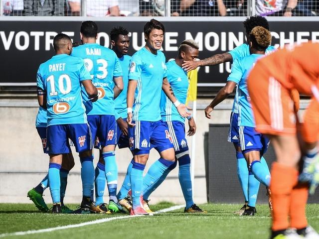 ◆リーグ・アン◆酒井ゴ、高速クロスで今季初アシスト!マルセイユはリーグ戦4試合ぶりの勝利