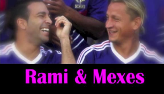 ◆動画小ネタ◆フランス代表から続く ラミ&メクセスのラブストーリー(動画)