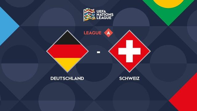 ◆UNL◆4組4節 ドイツ×スイス The馬鹿試合!常にスイス先行も最後にドイツがニャブッて追いつき3-3のドロー